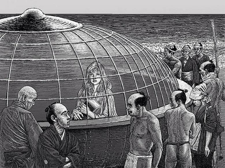 Японские рыбаки в начале девятнадцатого века не знали о перемещениях во времени