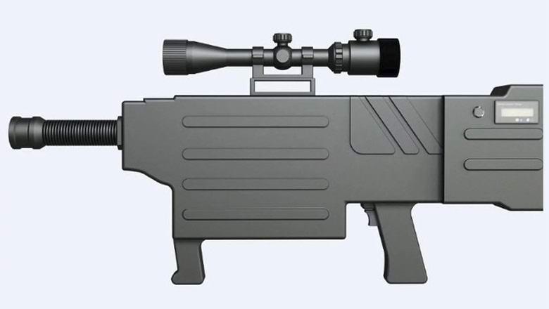 Китайцы испытали футуристическую лазерную винтовку