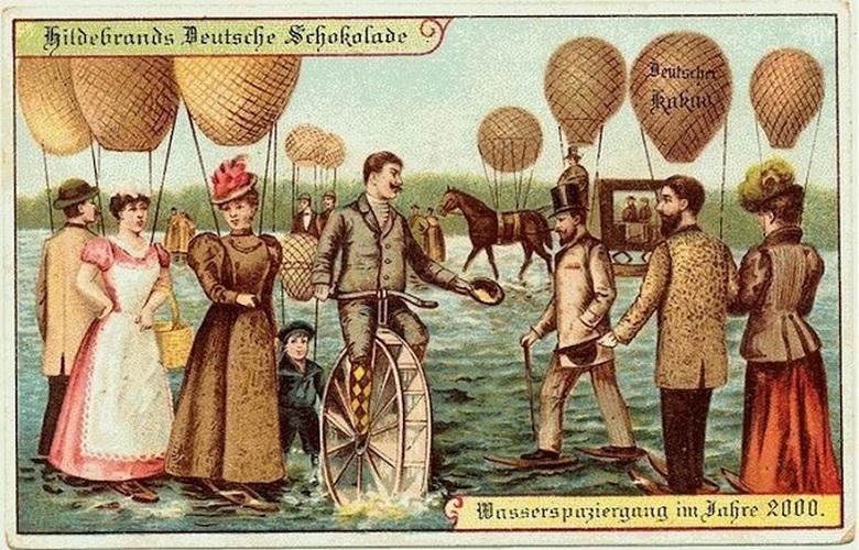 Как в начале прошлого века жители Земли представляли наше современное общество