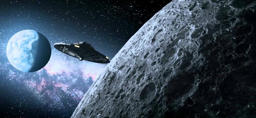 НЛО на фоне Луны: спутники, космический мусор или что-то иное?