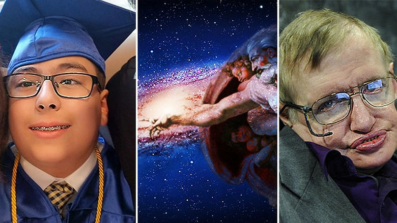Современный юный гений считает, что Стивен Хокинг и Эйнштейн были не правы: Бог есть