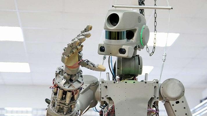 Робот «Федор», который готовится отправиться на МКС, заговорил