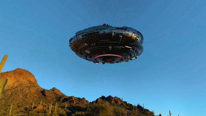 Возле «Зоны 51» очевидцы снова наблюдали полет НЛО