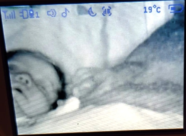 На экране видеоняни британка увидела в своем доме призрака
