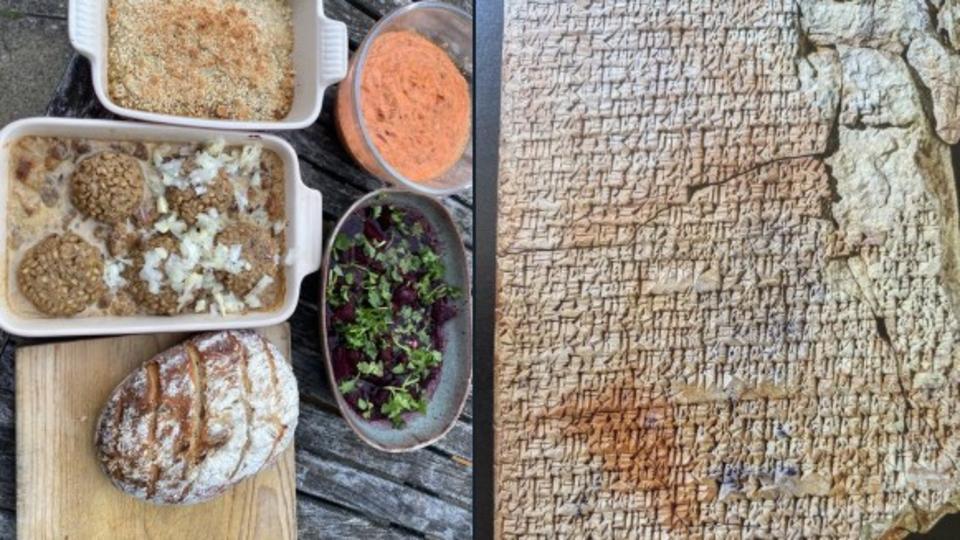 Ученый приготовил еду по древним вавилонским рецептам