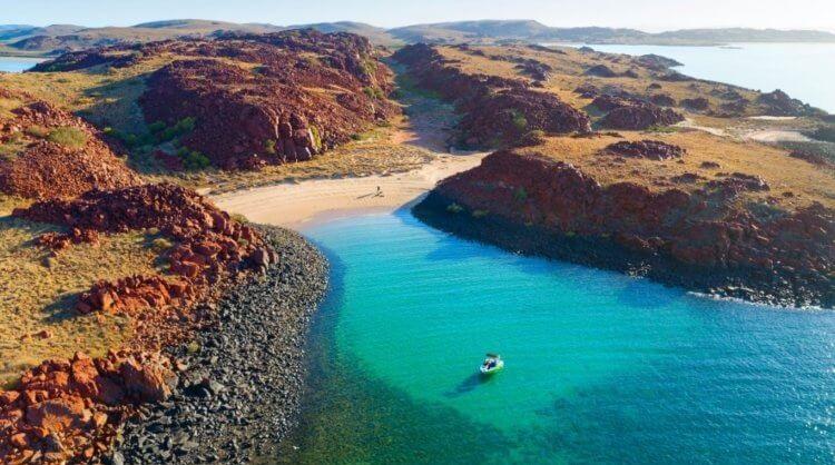Под водами Австралии обнаружены следы древних людей