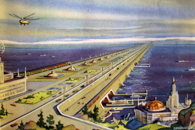 Как СССР предлагал США перекрыть дамбой Берингов пролив