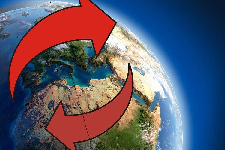 Ученые обнаружили рекордные сдвиги магнитного поля Земли