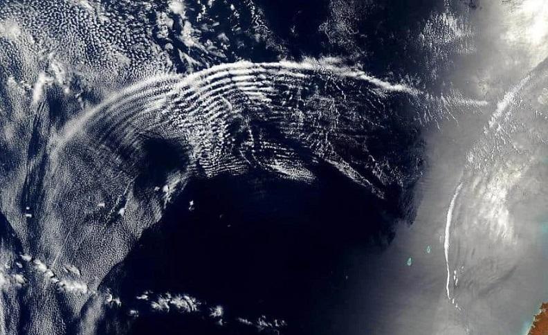 В атмосфере Земли ученые обнаружили необычное «звучание»