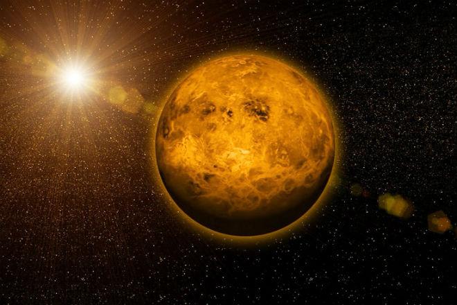 Венера - мир кислоты на орбите Солнца