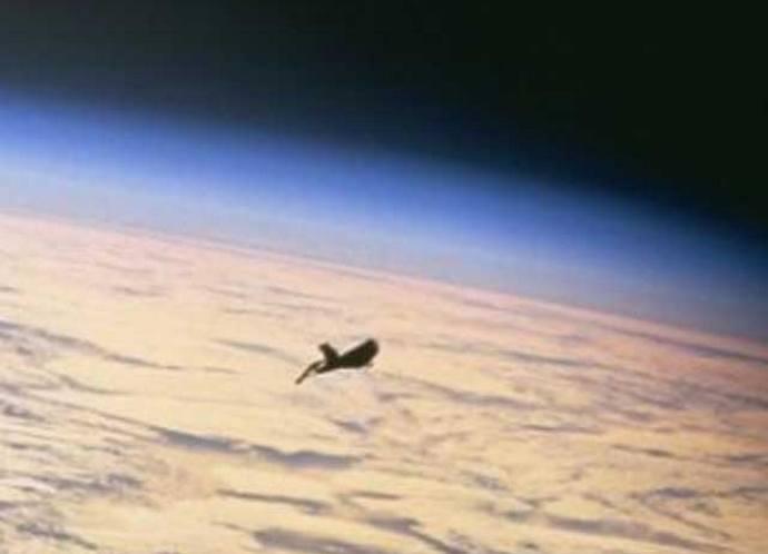 Камеры Международной космической станции зафиксировали вблизи неё НЛО