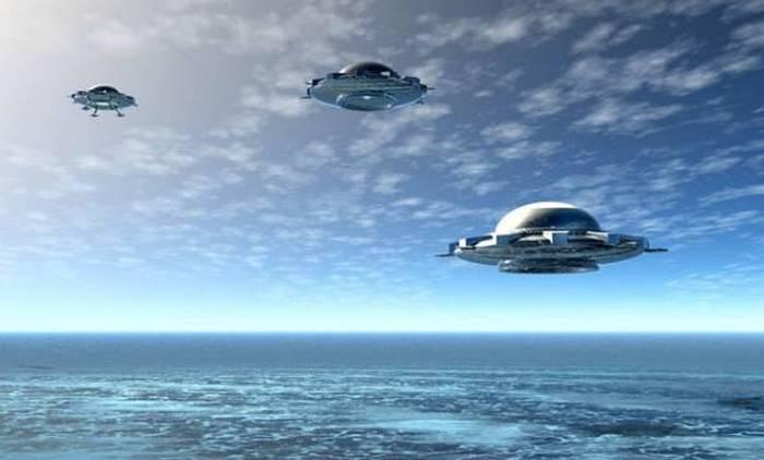 Корабли пришельцев тоже терпят крушения