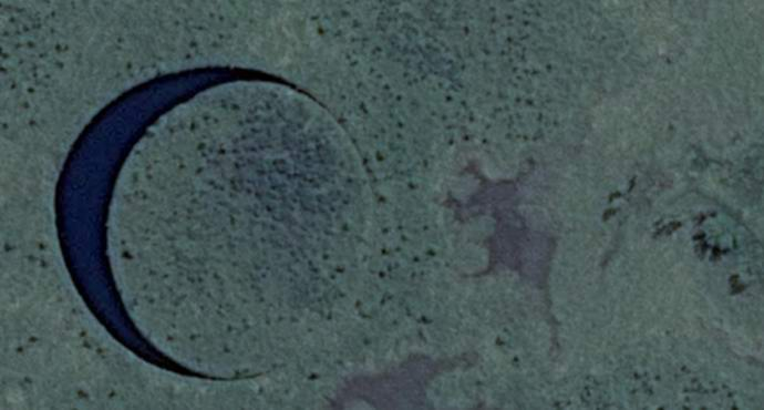 В Аргентине нашли удивительный плавучий остров
