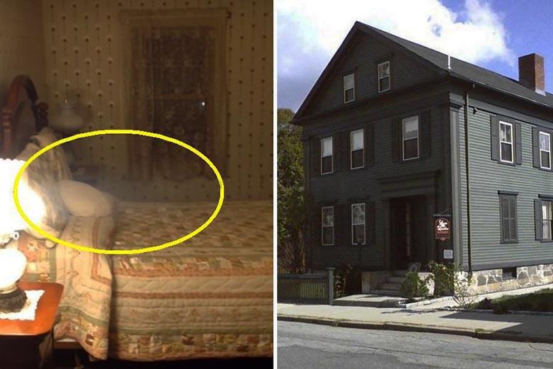 На кровати дома-музея оказалось привидение