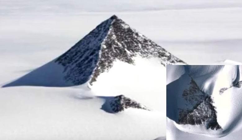 """На картах Google замазали всю Антарктиду, чтобы скрыть загадочную пирамиду"""" />"""