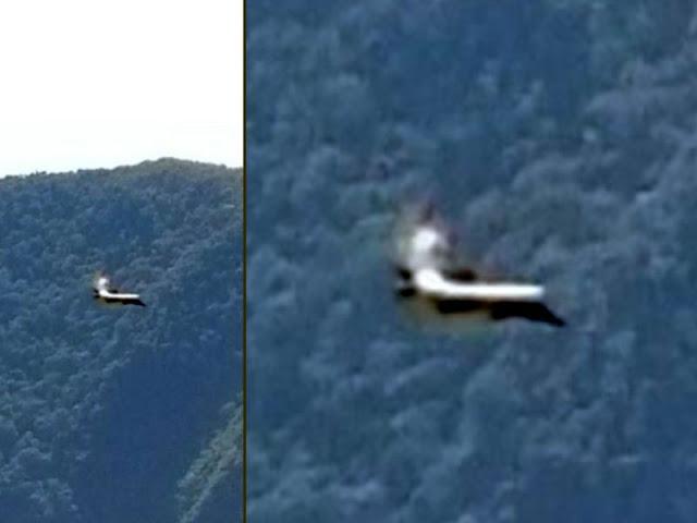 В Перу НЛО появляется из портала прямо над древним городом Мачу-Пикчу
