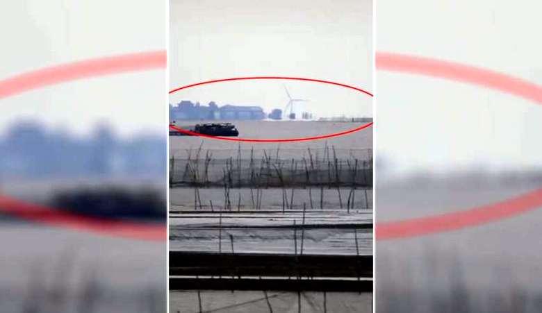 В Китае над озером Хунцзэ появился еще один город-призрак