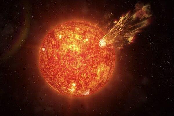 Мощный межпланетный удар Солнца зафиксировала камера NASA