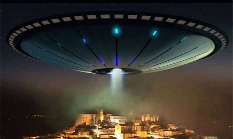 В Южной Корее заметили огромный НЛО, зависший над городом Тэгу