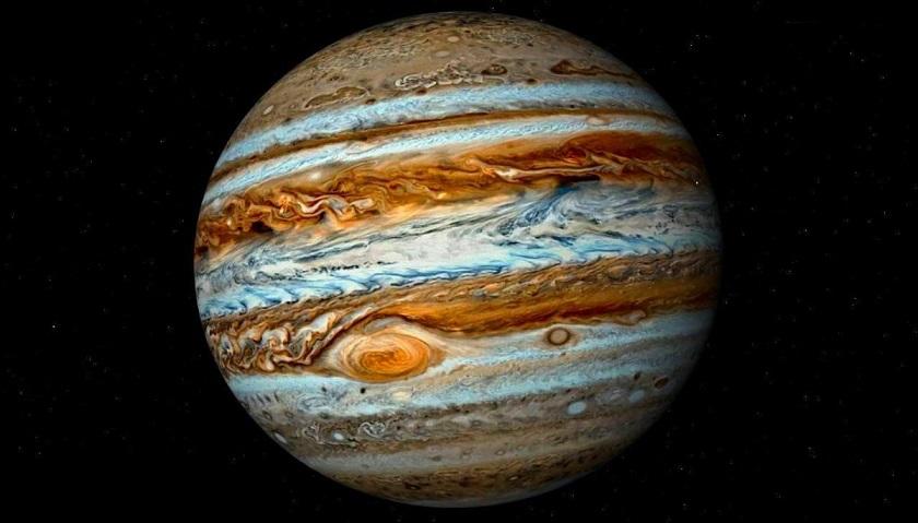 Юпитер поглотил огромную планету