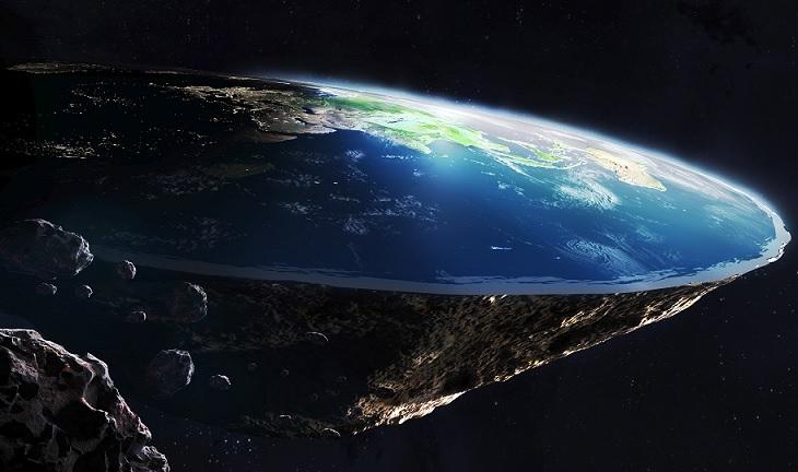 """«Вы не на МКС, а на Земле»: космонавтов одолели «плоскоземельцы»"""" />"""