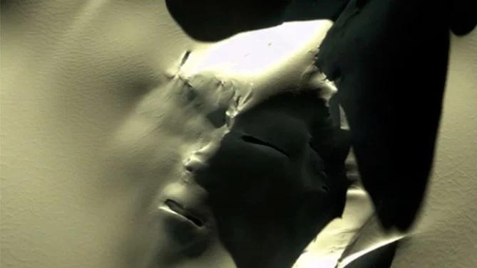Гигантское «лицо гуманоида» обнаружили в Антарктиде