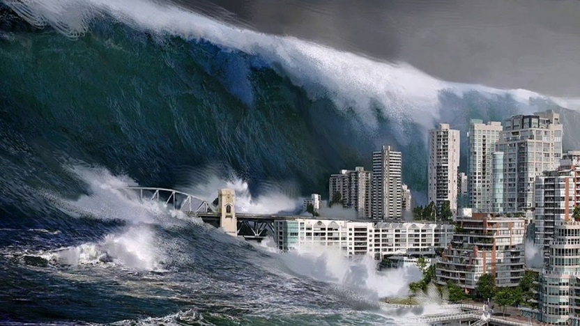 Гигантские волны уничтожат побережья, заявили ученые