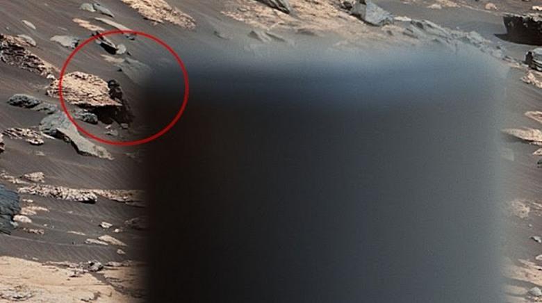Кто-то на Марсе снова наблюдает за марсоходом Curiosity