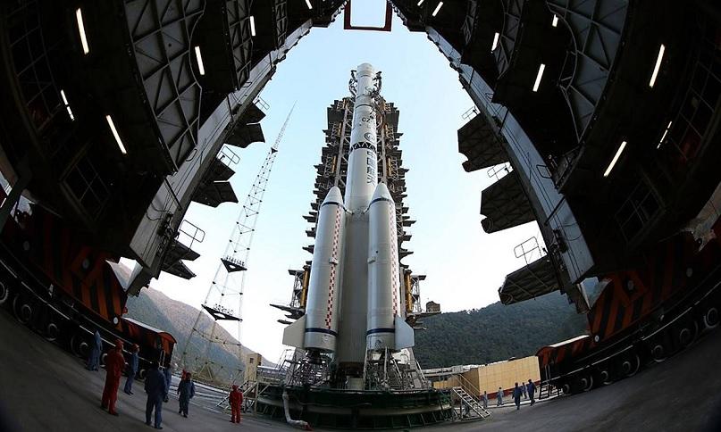 Китай планирует первым построить на Луне пилотируемую базу