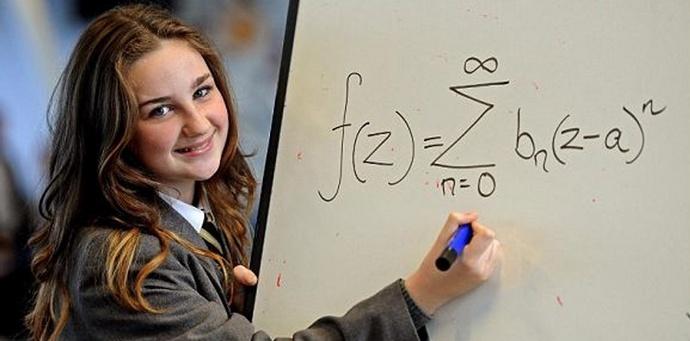 Цыганская девочка оказалась умнее Эйнштейна и Хокинга