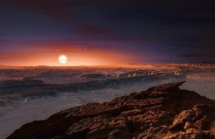 Инопланетяне с ближайшей к Земле экзопланеты (3 фото + видео)