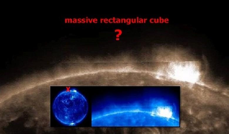 Солнце преподнесло ученым новую загадку - гигантский темный объект (2 фото + видео)
