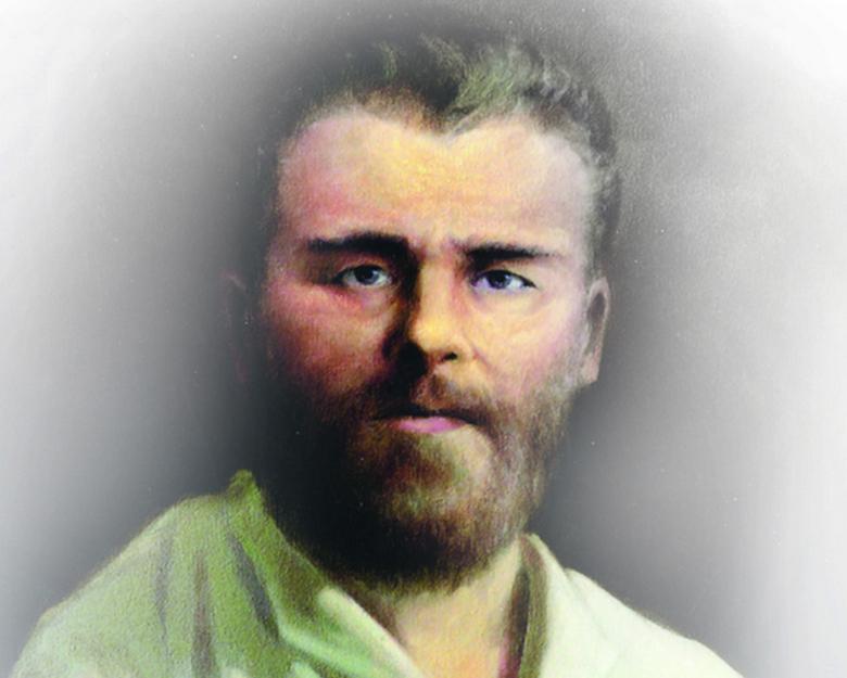 Безрукий и безногий русский иконописец Григорий Журавлев
