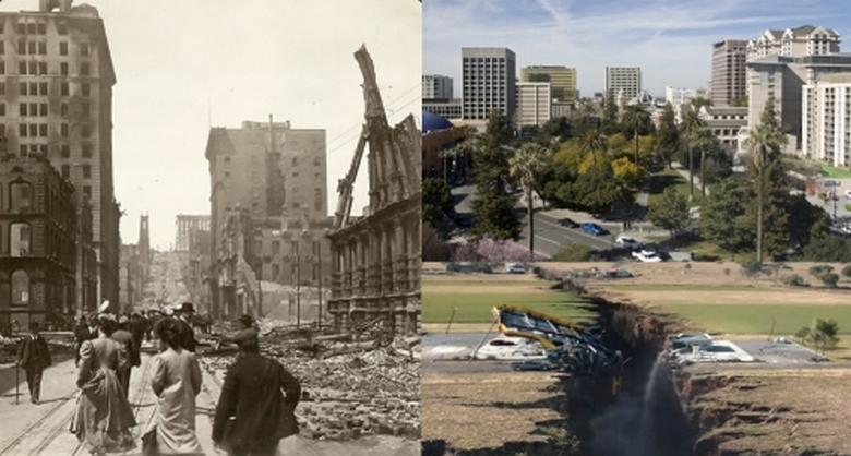 Ясновидящая из США предвещает Калифорнии глобальную катастрофу