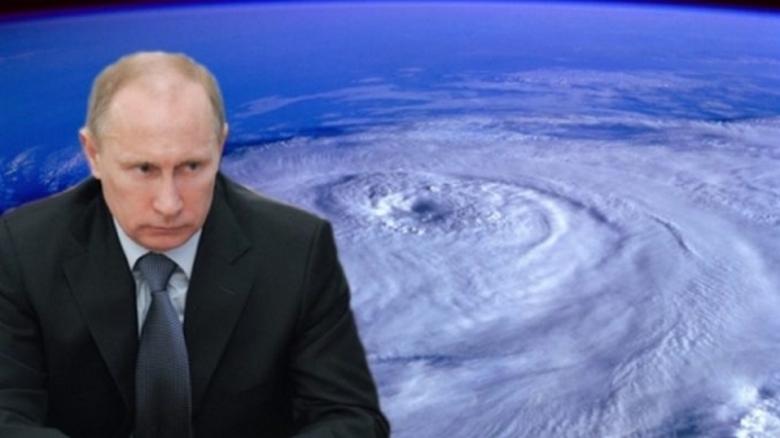 Серия ураганов была сгенерирована искусственно? (2 фото + видео)