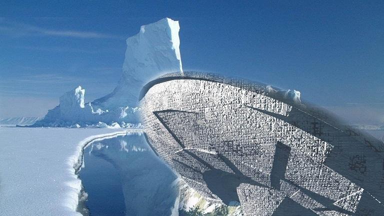 Уфологи обнаружили загадочные диски в Антарктиде