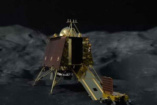 Индия нашла луноход «Викрам», с которым при посадке пропала связь