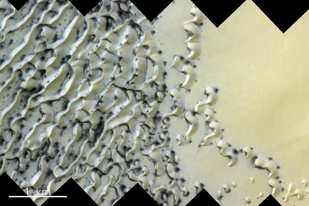 Необычное природное явление зафиксировали на Марсе