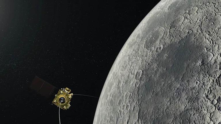 На Луне не могут найти индийский посадочный модуль «Викрам»
