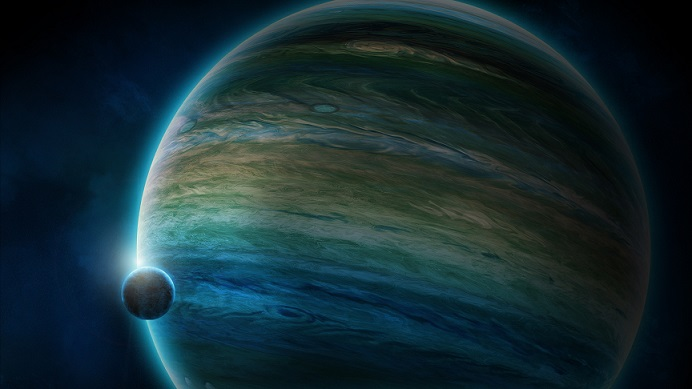Астрономы обнаружили гигантскую планету, которая вращается возле «красного карлика»
