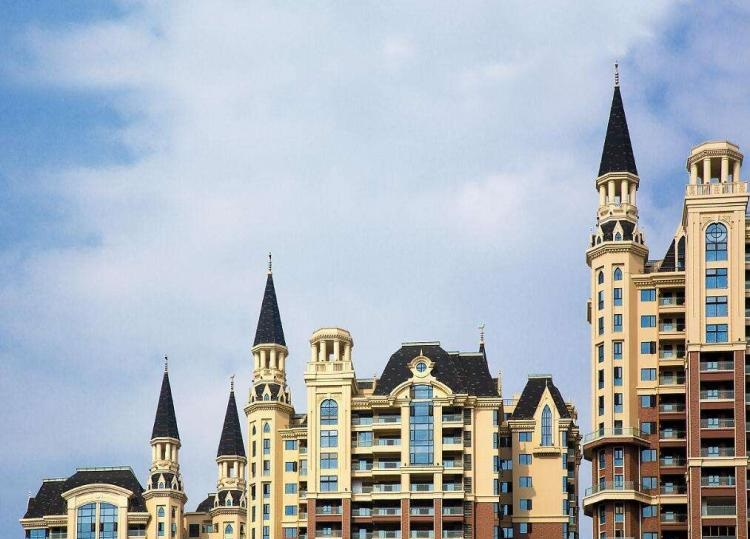 В небе над Китаем возник «Хогвардс» (ВИДЕО)