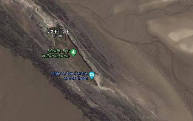 На картах Google обнаружили загадочную «дыру в центре Земли»