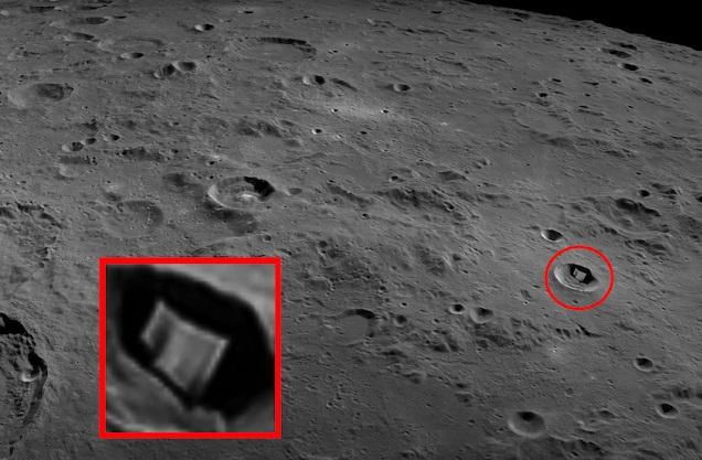 На Луне обнаружили странную 2-километровую структуру