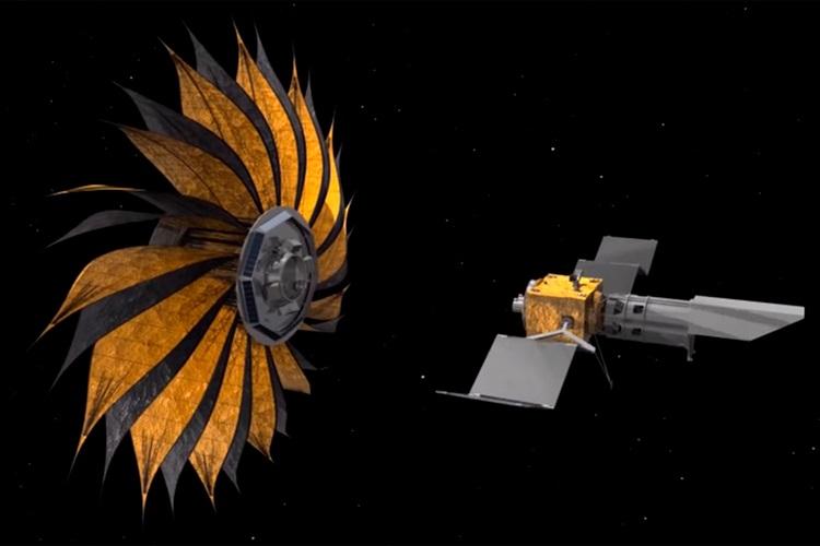 Ученые спроектировали гигантский космический занавес для поиска двойника Земли