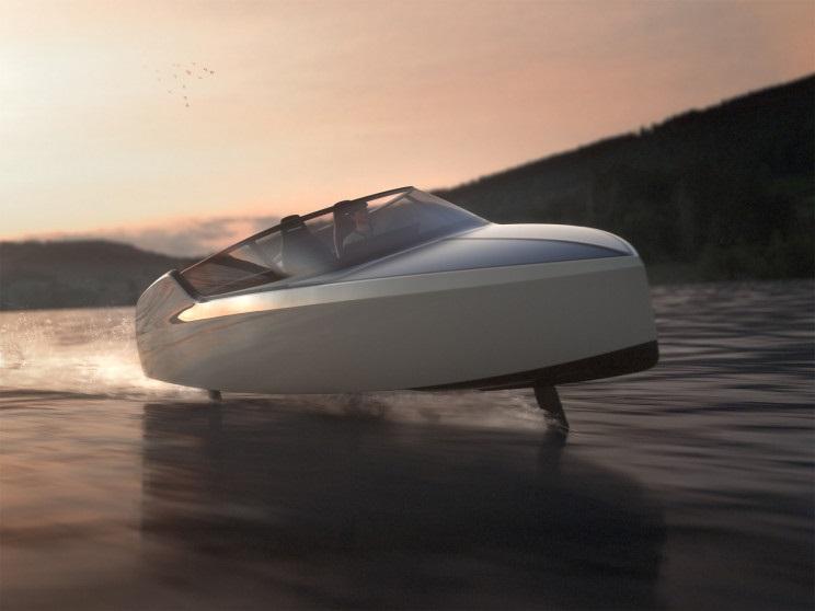 Моторную лодку с нулевым уровнем выбросов создали в Голландии