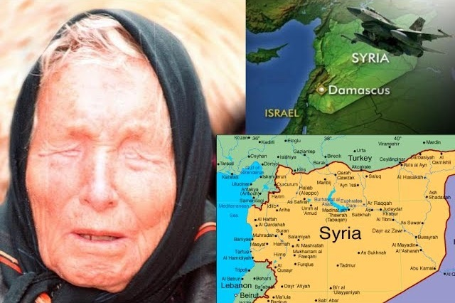 Что последует за падением Сирии? Предсказание о Сирии (2 фото + 2 видео)