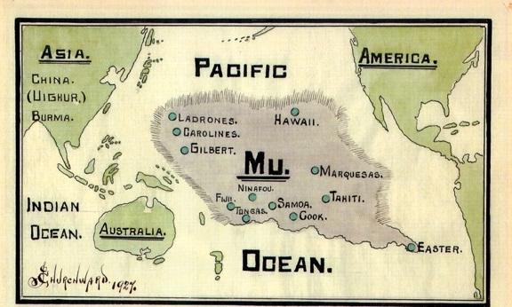 Пропавший континент Му – Атлантида Тихого океана