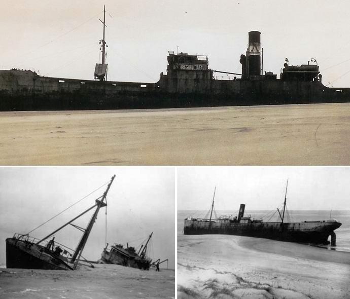 Живой остров Сейбл, пожирающий корабли (7 фото + видео)