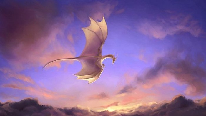 В китайских горах сняли на видео живого дракона