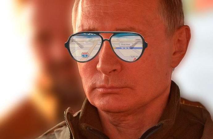 Московский Кремль загадочным образом глушит GPS (2 фото)